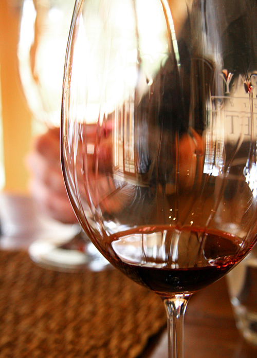 Red wine (Murray Street Vineyards, Barossa Valley)
