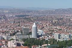 Ankara, Turkey (fisherbray) Tags: panorama turkey hotel trkiye trkei sheraton ankara atakule turchia ankaya 5photosaday atakuletower fisherbray