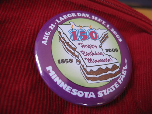 Minnesota State Fair -- Happy Birthday, Minnesota!, Minneapolis, Minnesota, July 2008, photo © 2008 by QuoinMonkey. All rights reserved.