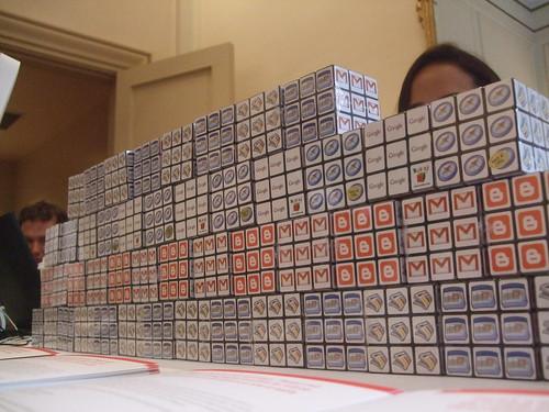 Google Rubix cubes