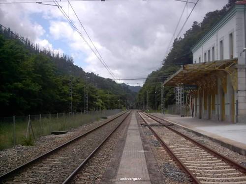 Estación de Os Peares (Ourense)