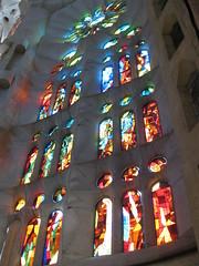 Ventanales Sagrada Familia