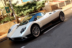 White Pearl Pagani Zonda F (Julien Rubicondo Photography - julienrubicondo.com) Tags: cars car d50 italian nikon italia montecarlo monaco exotic f coche luxury supercar coches zonda exotics supercars pagani