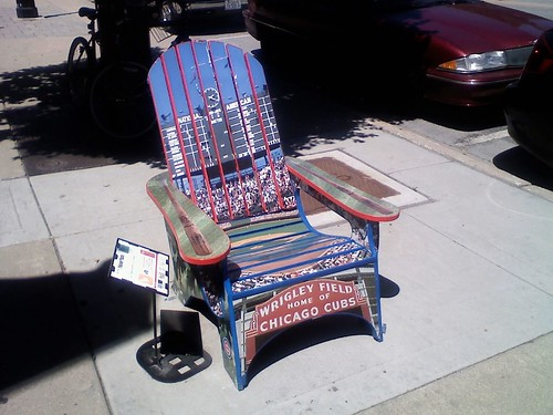 Wrigley Field Chair