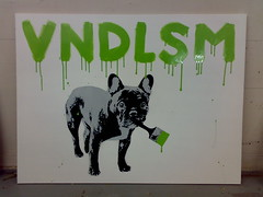 VNDLSM DOG By FAKE (green) (.FAKE.) Tags: dog streetart stencils holland art netherlands amsterdam fashion dark painting movie graffiti interestingness cool stencil flickr artist forsale sjabloon political great fake banksy tags images canvas urbanart master streetartist vandalism government spraypaint doggy doggystyle kool graffitiart thedark amsterdamgraffiti dutchgraffiti amsterdamstreetart vndlsm urbanstencil fakeamsterdam byfake dutchstreetart dutchstencil dutchstencils beststreetart stencilvideo amsterdamstencils amsterdamstencil spraypaintwith