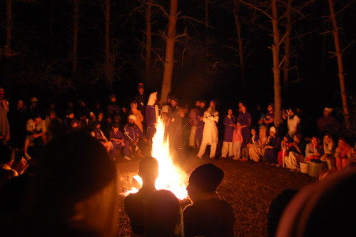 Khalsa Camp Bonfire by you.