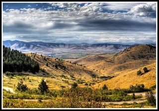 Red Sleep Mountain Drive, National Bison Range, Moiese Montana