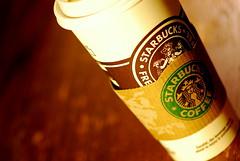 DSC_1938 (25 of 365) (Eva Wood) Tags: coffee starbucks badge soy latte venti pumpkinspice nowhip