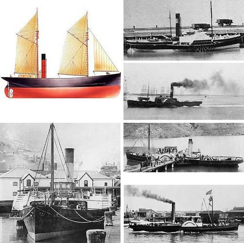 Lyttelton Tugs 1859-1907