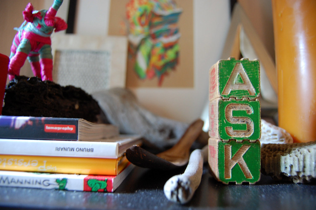 ASK vintage interlocking blocks