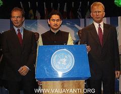SRI PUNDRIK GOSWAMI JI MAHARAJ, MR. GEORGE BUSH AND MR. TONY BLAIR (VAIJAYANTI) Tags: india london ji religion sri devotion varanasi das punjab gita ram krishna six hinduism amritsar gopal radha mayapur rupa chaitanya raman ludhiana maharaj mathura sanatan vrindavan vraj iskcon bhakti nitai goswami ayodhya braj balram nimai spritualism bhutt jaganath radharaman vaishnavism raghunath dait gourang godiya pundrik sribhuti bhagwatam