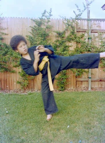 Afro and Kung Fu! 70s FTW!