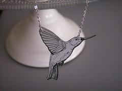 hummingbird necklace (bbel-uk) Tags: nature birds animals silver necklace surf wave ring jewellery bracelet jewelery pendant bbel
