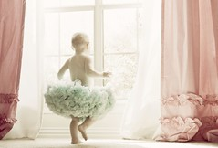 Dancing in the Window's Light (mjmatt) Tags: babygirl pettiskirt windowlight herroom skgactions