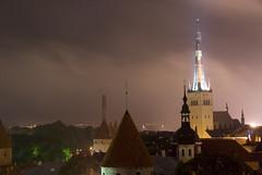 Tallinn by Night (@fotochap) Tags: travel europe tallinn estonia eu eesti top20flickrskylines