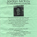 Remember Jordan McKay flyer