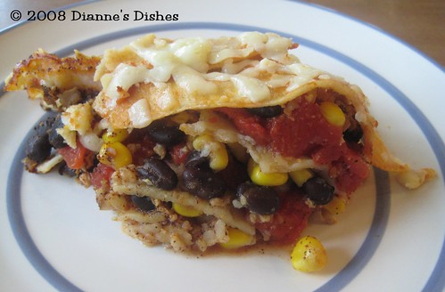 Slow Cooker Mexican Stack Up