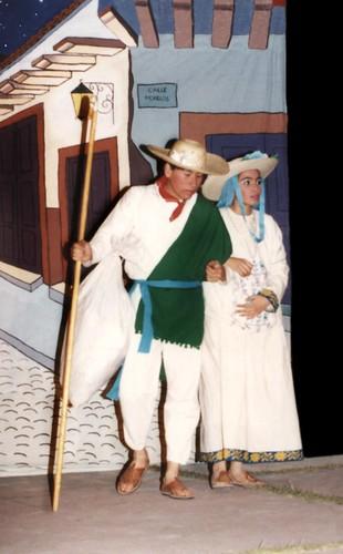 María y José buscan posada