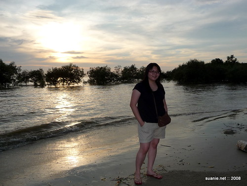 Suanie at Pantai Morib