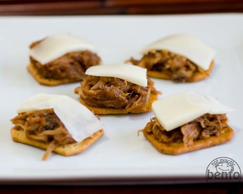 Pulled Pork appetizers