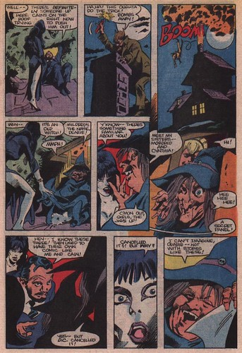 Elvira's House of Mystery page 4