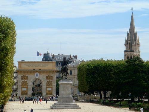 Esplanade du Peyrou, Montpellier por twiga_swala.