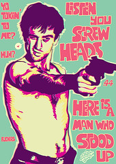 YOU SCREWHEADS (AKUTOU83) Tags: punk gun travisbickle taxidriver deniro robertdeniro scorcese