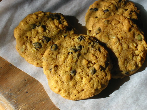 Pumpkin Oatmeal Cookies (large)