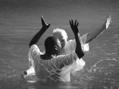 Yardenit Jordan river baptising