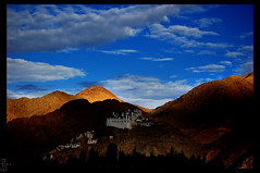 Light and darkness (Ezhil Ramalingam) Tags: light shadow landscape explore ladakh monastry golddragon mywinners anawesomeshot aplusphoto colourartaward rubyphotographer