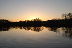 The Snow's pond at dusk. (Parkerpics) Tags: sunset lake nature water landscape ilovenature landscapes pond lakes sunsets ponds natures beautifulearth flickrelite