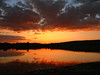 Sunset (geopalstudio) Tags: sunset sky lake reflection water sofia bulgaria iloveit digitalcameraclub justclouds rubyphotographer geopalstudio