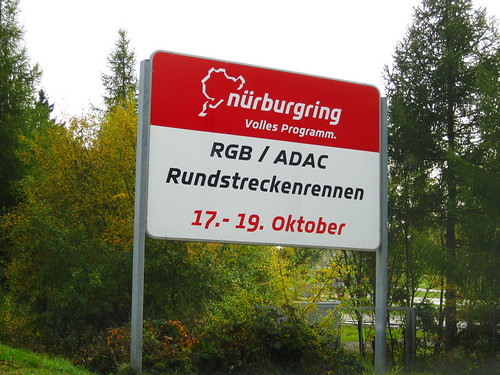 The Destination: Nürburgring Nordschleife