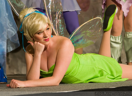 tinkerbell cleavage