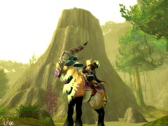 ::Hunter's Haven:: (~Wynter~) Tags: mountain game green forest wow warcraft elf hunter ram mmorpg elven bloodelf talbuk
