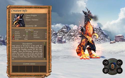 Fortress Lava Dragon