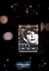 Nawal 2009 ~! (Essa Al-Sheikh - @Bo3awas) Tags: music apple canon ipod album touch itunes lovers singer fans kuwait 2009 nawal q8 singe xti 400d ipodi