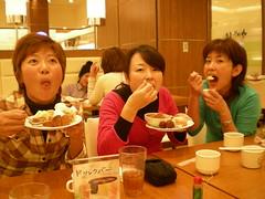 DSCN0519 (recursive.faults) Tags: party japan mami goodbye mes gifu ayumi yurie
