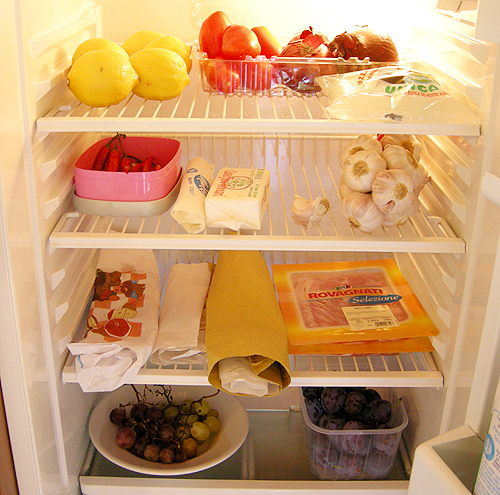 我在托斯卡尼的冰箱。Fattoria Montalbano-Donnini-080930