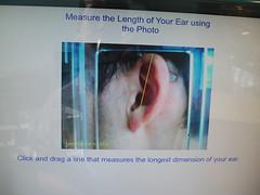 Daddy's ear