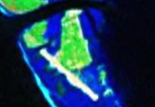 Apataki Atoll FP -Niutahi Village - Landsat ETM+ S-06-15_2000 (1-7,500)