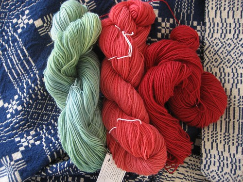 hand dyed wool by linda little