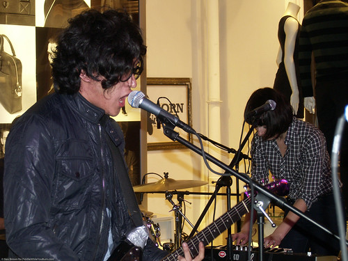 10.22h CMJ the Teenagers @ Ben Sherman (1)