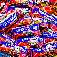 Yeah...Uh huh - Life Savers (GioPhotos) Tags: life halloween colorful candy gummies savers lifesavers
