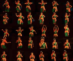 Kuchipudi Dance Moments (Nagaraj B R) Tags: music dance indian expressions culture 2008 emotions utsav facial hampi kuchipudi bwsnov2rd4thhampi hampiutsav2008 shobanaidu