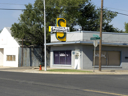 Pampa (TX) United States  city photos : Spudnuts, Pampa Texas by TomSpinker