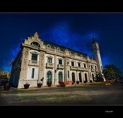 0120 Edifici del rellotge (QuimG) Tags: architecture spain arquitectura europe grau harmony zuiko soe pictureperfect cabanyal granangular valncia p