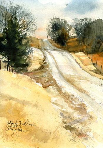 Vassmer's Road, Winter