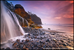 HP4 - Dreaming of Tomorrow (Darren White Photography) Tags: ocean travel sunset sun white west fall beach nature water darren oregon landscape photography evening waterfall sand nikon sandstone rocks surf waves natural pacific northwest north scenic sigma tourist dreaming pacificocean formations d300 sigma1020 oregontravel oregontourism fall2008 darrenwhitephotography