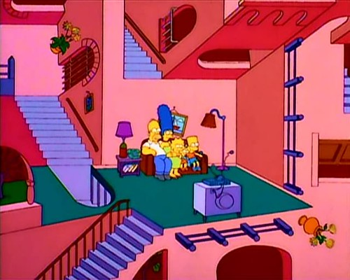 simpsons aka escher
